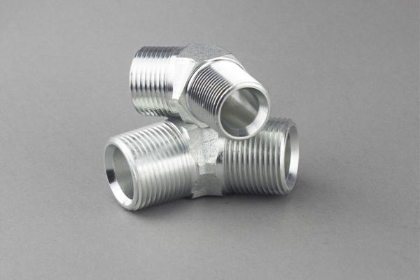 Raccords métriques mâles pour joints toriques